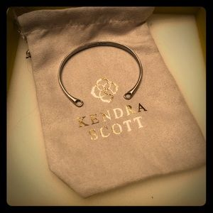 NEW! Kendra Scott Charm Cuff Base in Silver